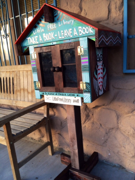 The Little Free Library will be located outside of Tippi Teas at 5034 Doniphan Ave.