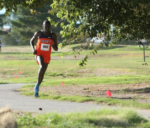 Junior+All-American+Anthony++Rotich+has+dominated+the+opening+half+of+the+Miners+2014+cross+country+season.+