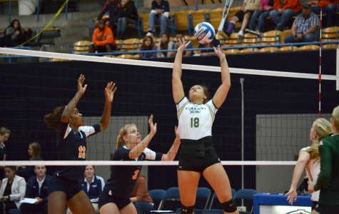 Miners fall to CSU in straight sets