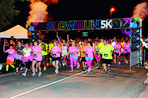The Glory Glow Run will take place at 7 p.m. on Sept. 27.