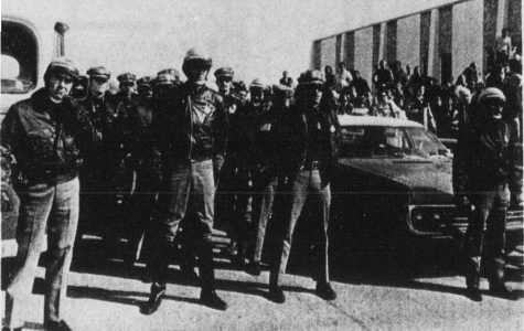 On Dec. 3, 1971, 30 students were arrested by the El Paso Police Department for demonstrating on campus.