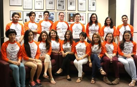 The 2014 Centennial paper staff.