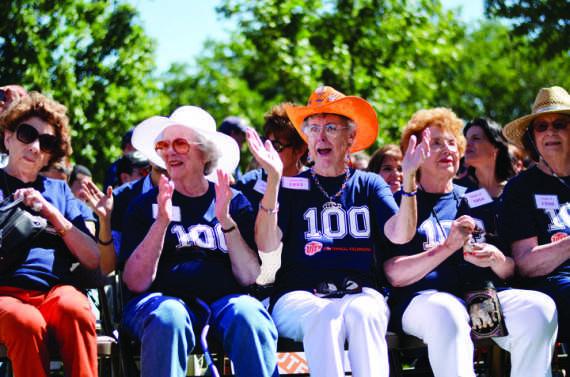 UTEP alumni celebrate the centennial festivities.
