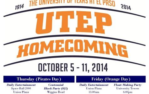 Homecoming Calendar of Events
