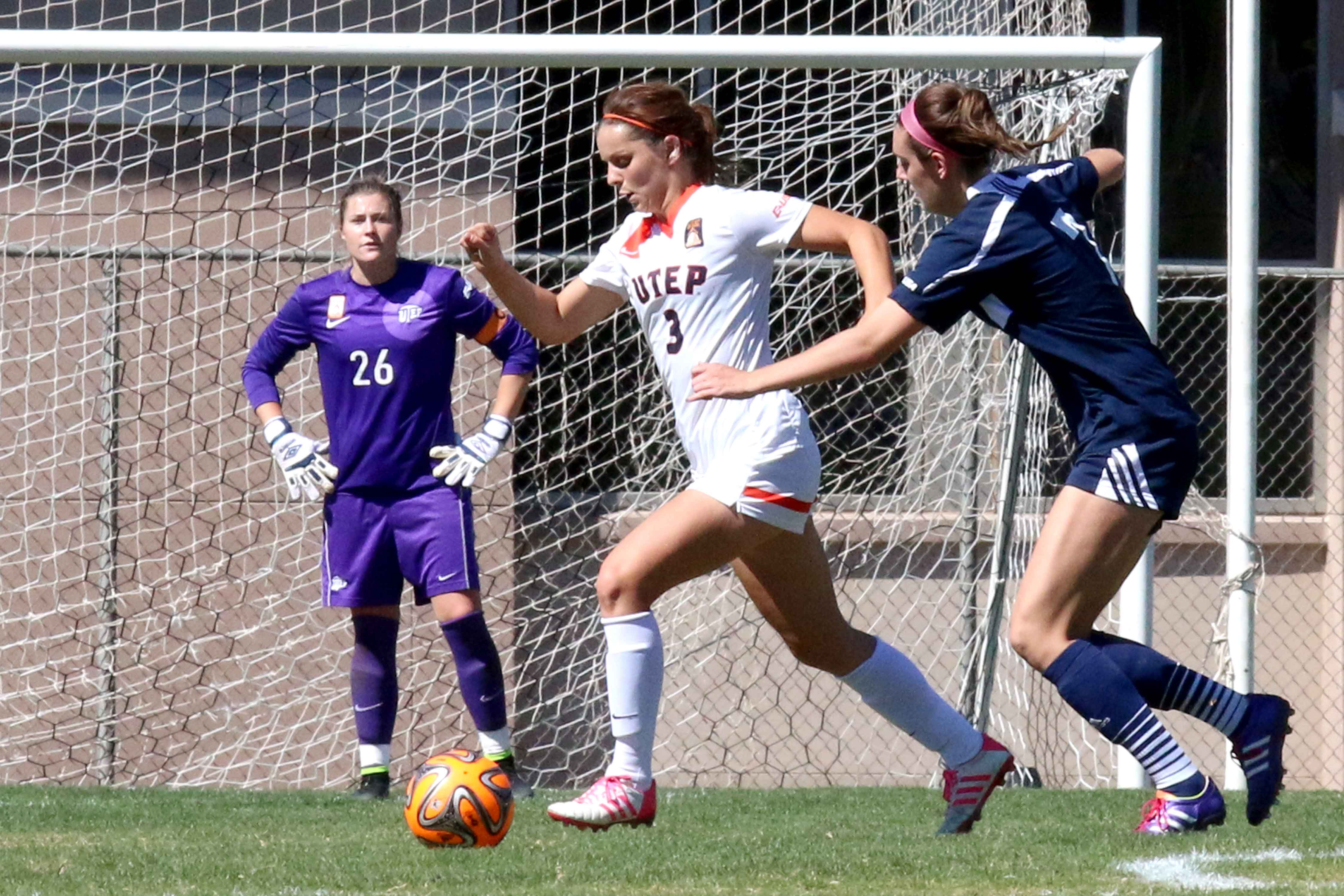Since the start of her freshman year Asuchak has been the anchor of the Miners back four.