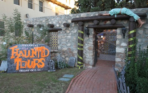 Haunted Campus will take place at 6 p.m. Oct. 23-24 at the Peter and Margaret de Wetter Center (Alumni Lodge).