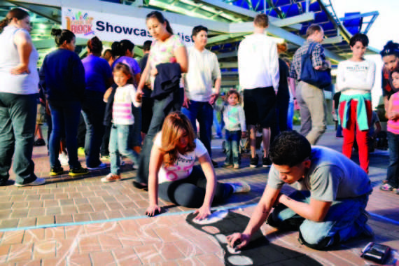 Chalk the Block will be held Oct. 10-12 in downtown El Paso.