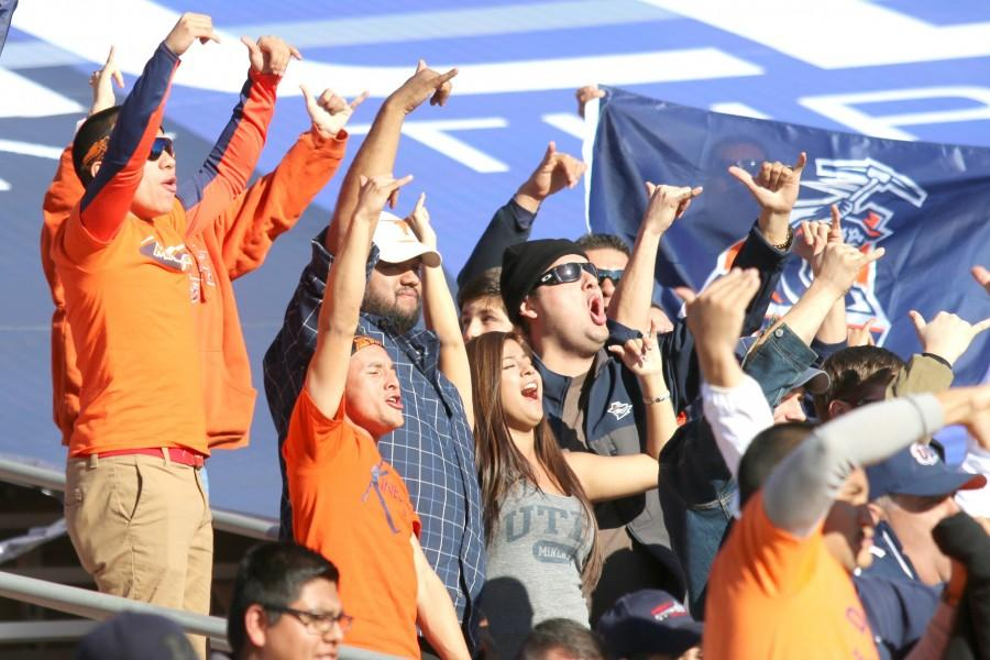 UTEP fans support the Miners in the Gildan New Mexico Bowl.
