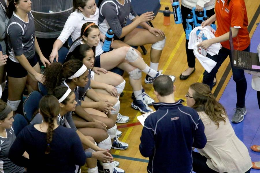 The+UTEP+Volleyball+team+was+1-11+at+home+and+4-7+in+away+matches.