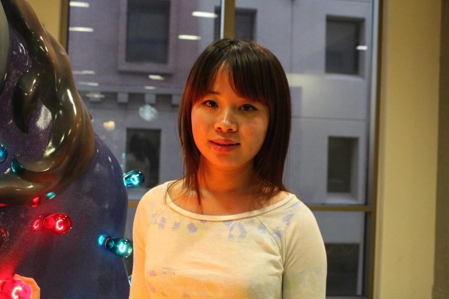 Doctoral student in chemistry Yanyu Wu will participate in Chinese New Year activities.
