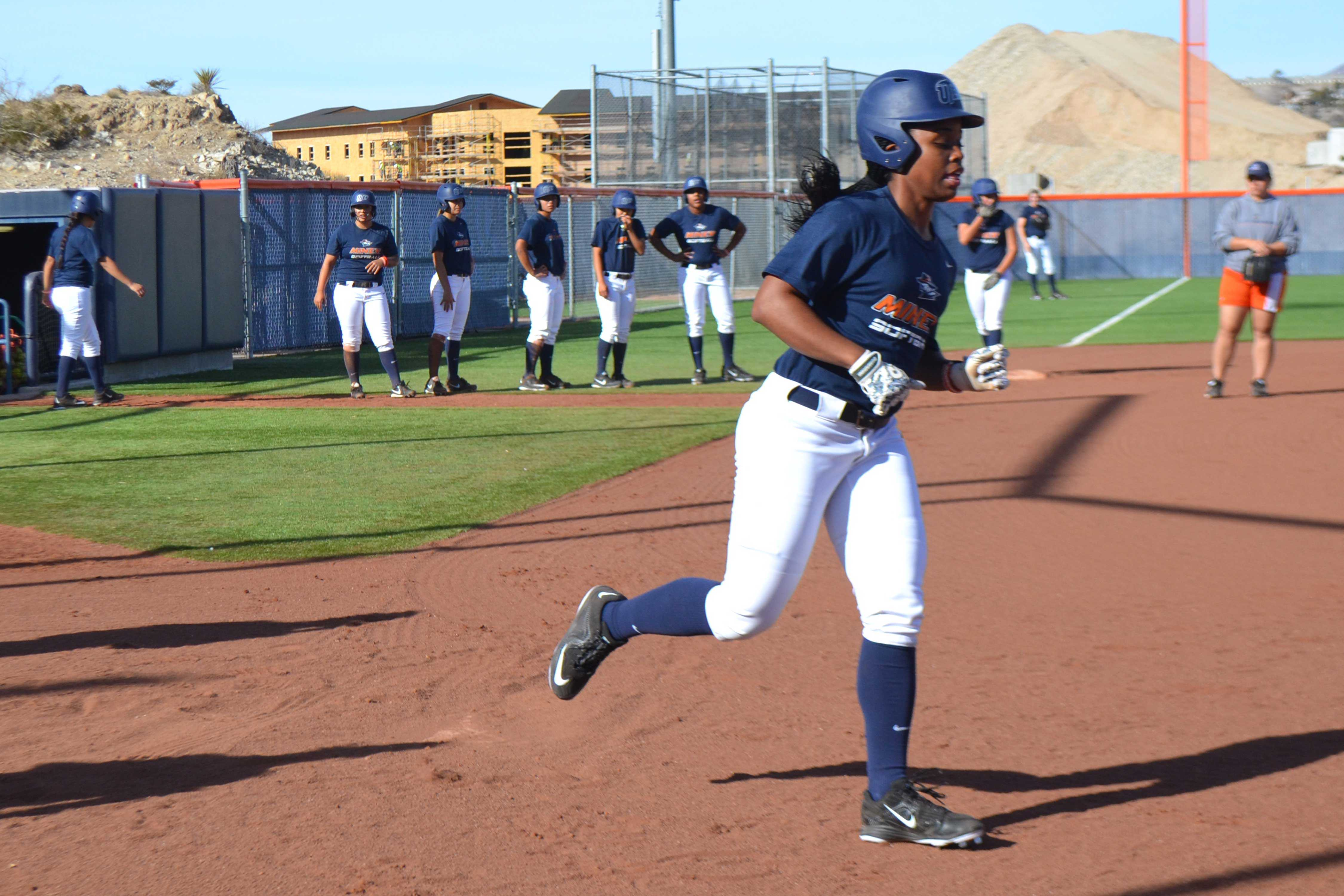 Senior outfielder Tahla Wade made 49 starts in 50 games played last season.