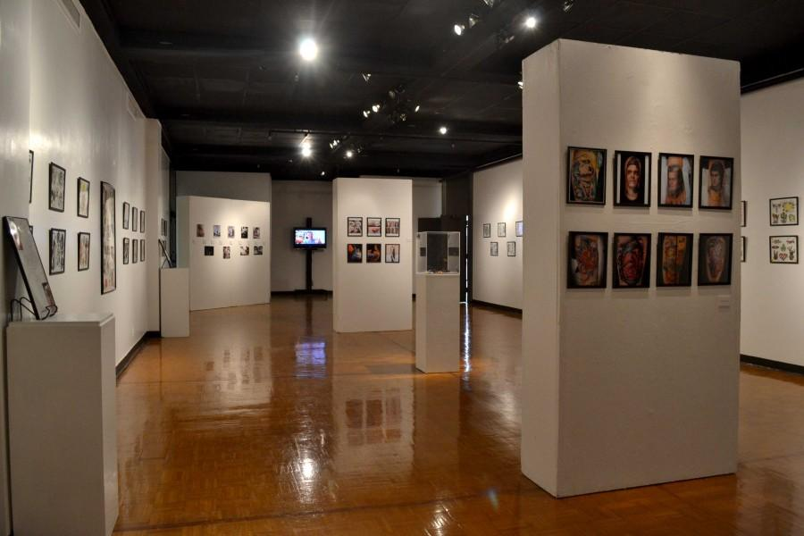 """""""The Body as a Canvas: History and Influence of Tattoo Art"""" is located at The Union Gallery, on the second floor of the student union building."""
