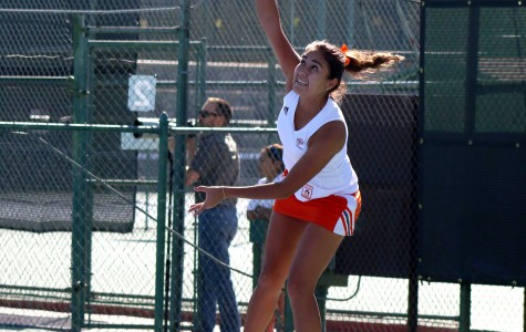 Senior Davina Meza made the All-Conference USA third team last season.