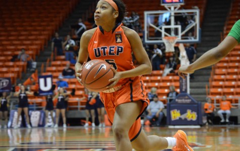 Freshmen guard Lulu McKinney played a team-high average of 32.5 minutes per game over the last two contests.