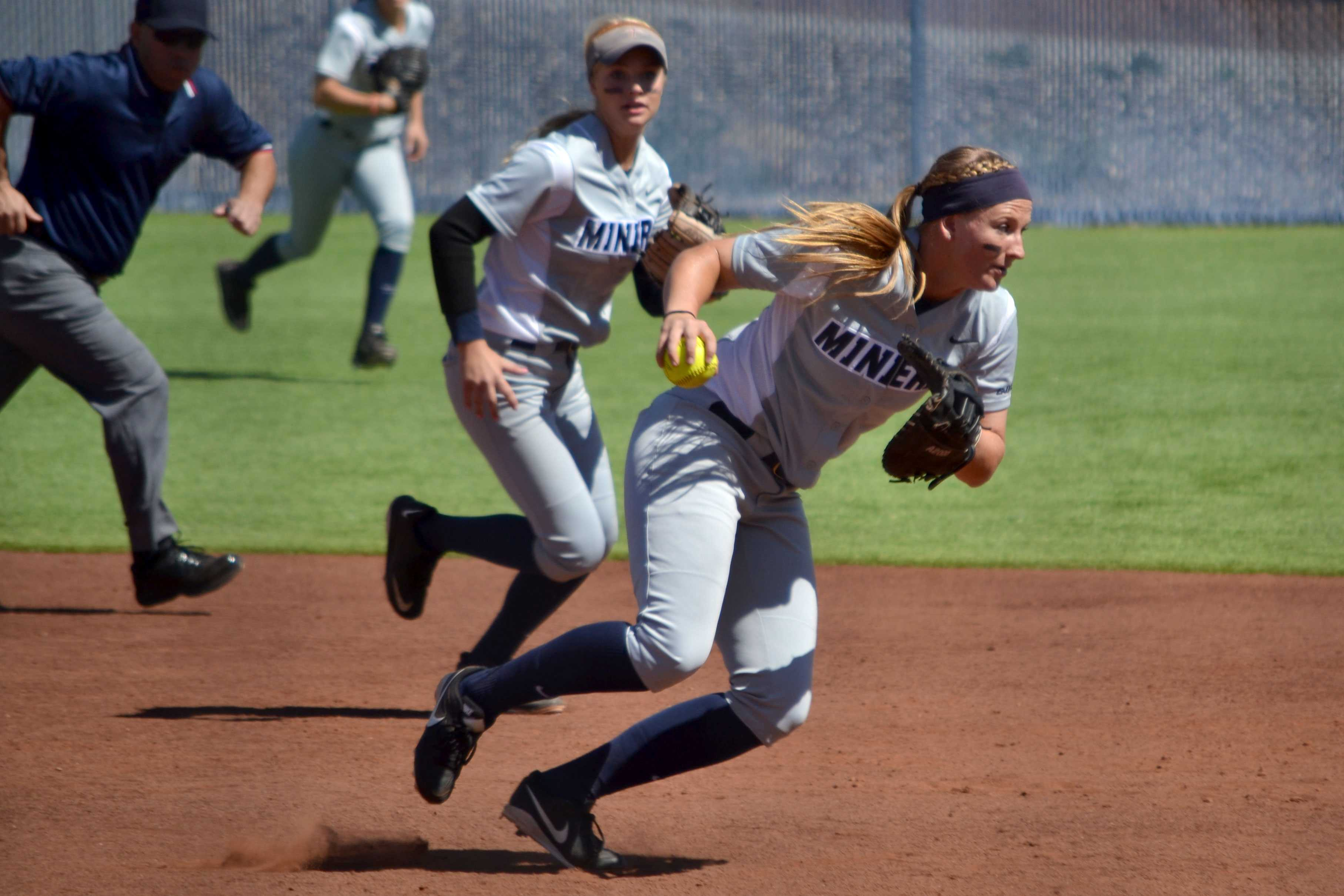 The UTEP softball team will play the NMSU Aggies again on April 28 in El Paso.