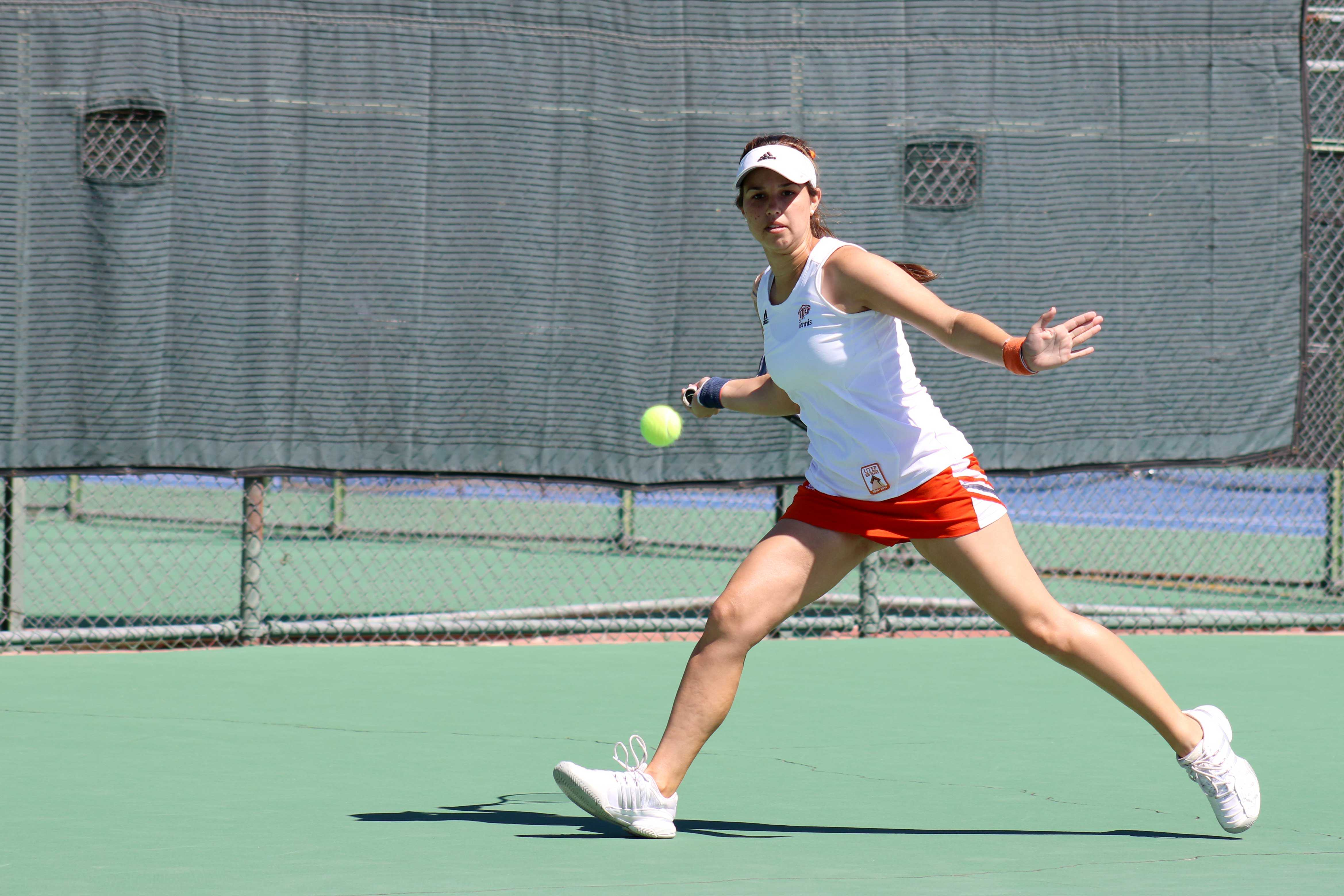 The UTEP women's tennis team will finish the season on the road with their final regular season match taking place in Las Cruces, N.M.
