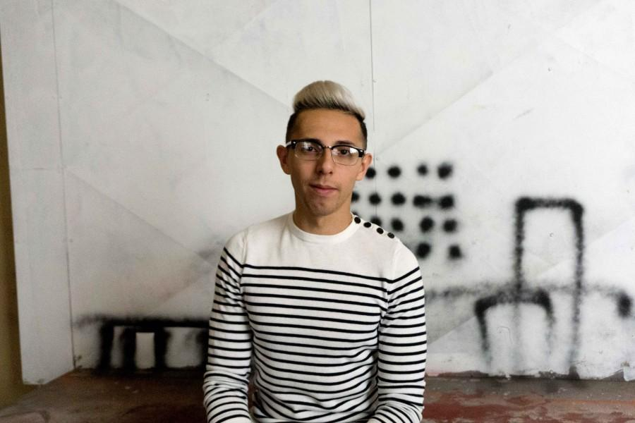 Senior studio art major, Francisco Melendez continues to showcase his art in El Paso, although it can be hard for many local artists to make a living.