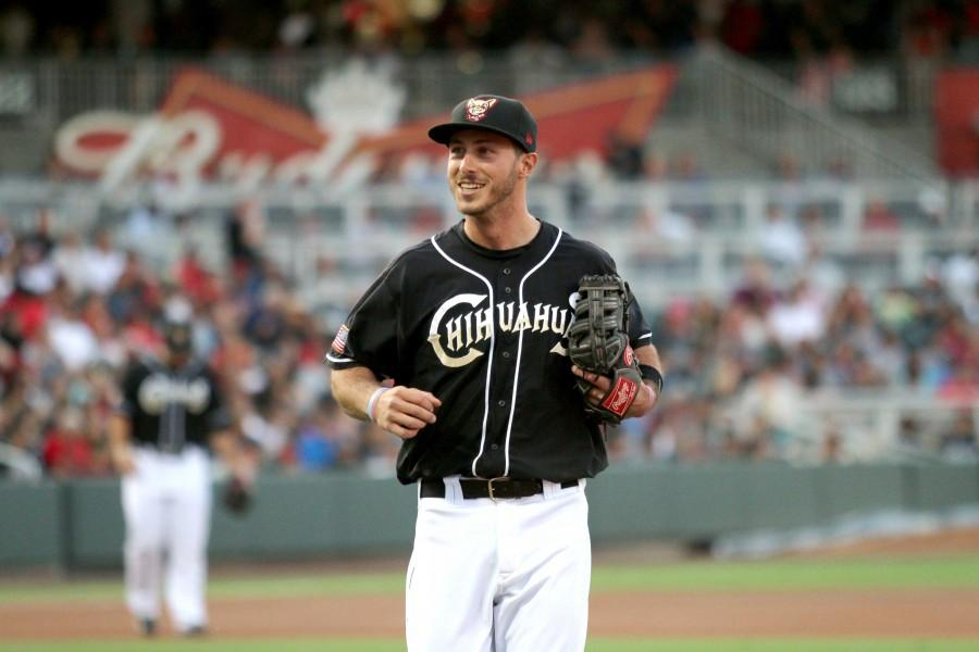 First baseman Tommy Medica is batting .326 in the 10 games he has played for the Chihuahuas this season.