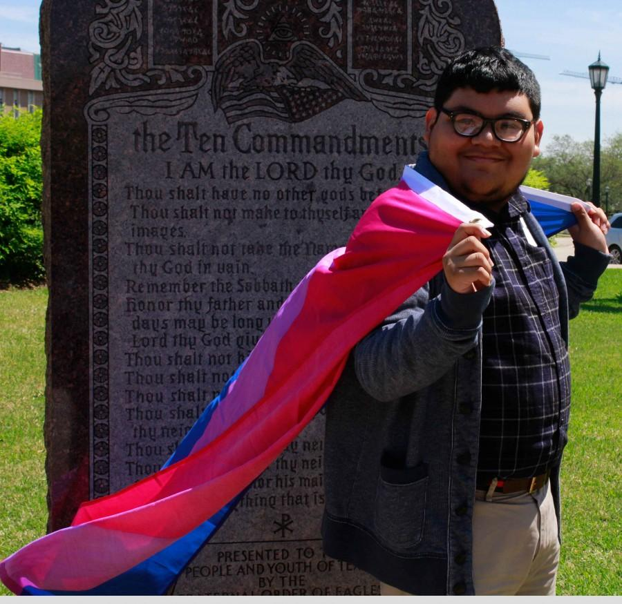 A participant of Freedom Advocacy Day poses for a picture.
