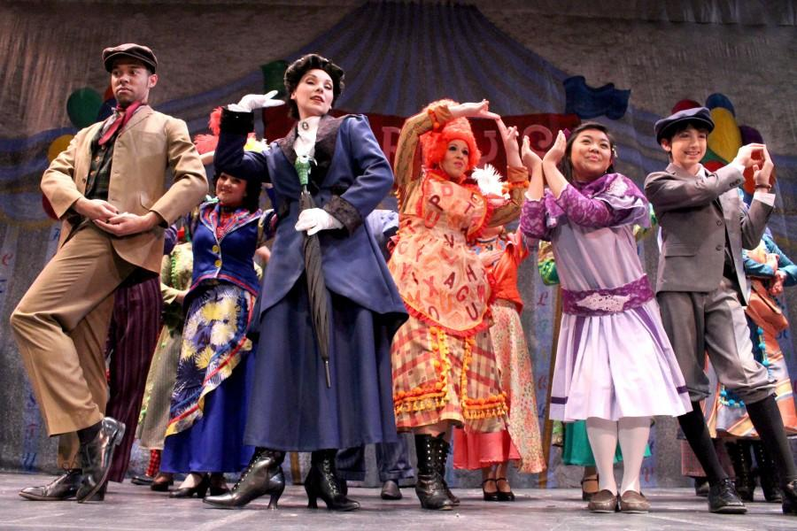 """""""Marry Poppins"""" will run until May 17 at the UTEP Dinner Theatre."""