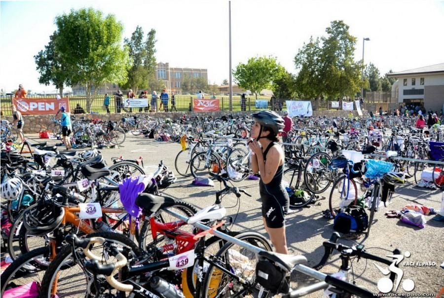 The+Mighty+Mujer+Triathlon%2C+an+all-women+triathlon%2C+will+take+place+April+18+at+Memorial+Park+in+Central+El+Paso.+
