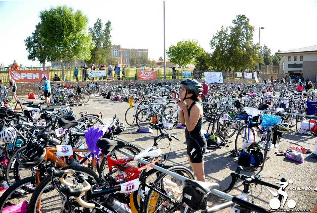 The Mighty Mujer Triathlon, an all-women triathlon, will take place April 18 at Memorial Park in Central El Paso.