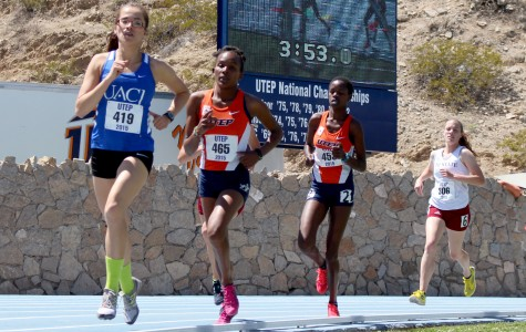 Despite wind track and field shines at UTEP Invitational