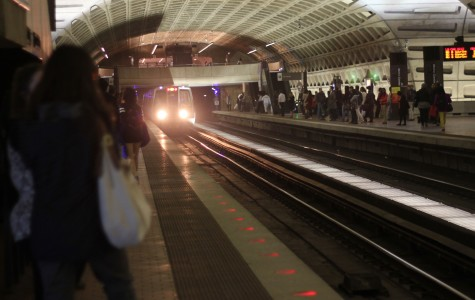 Passengers wait for the red line subway in Washington. Two bills introduced to Congress in March would eliminate mass transit funding from the Highway Trust Fund.