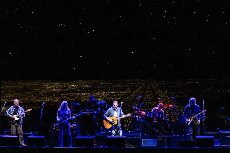 The Eagles played at the Don Haskins Center on Friday night.