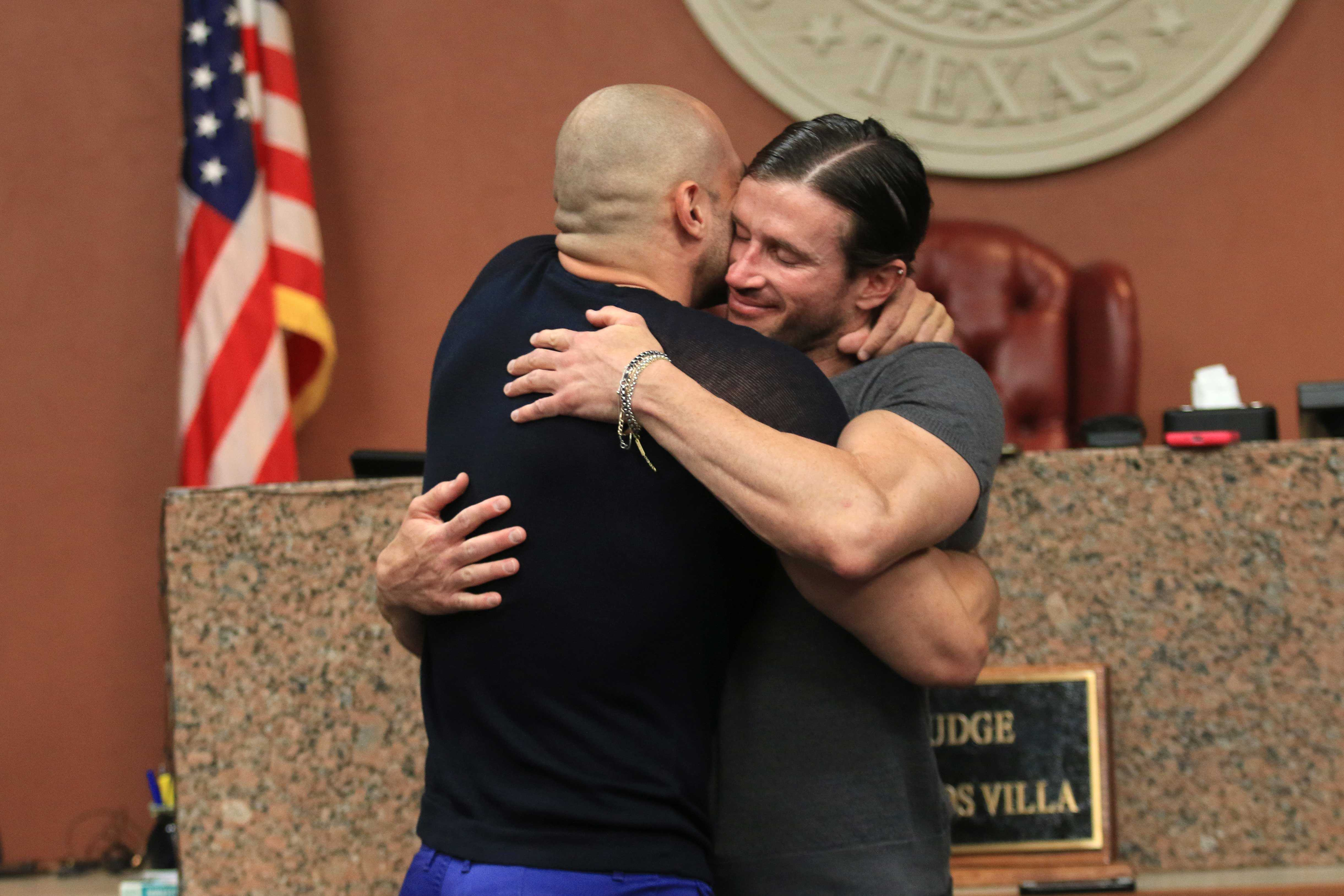 Yairo Herrera and Luke Oleander become the first gay couple married in El Paso County.