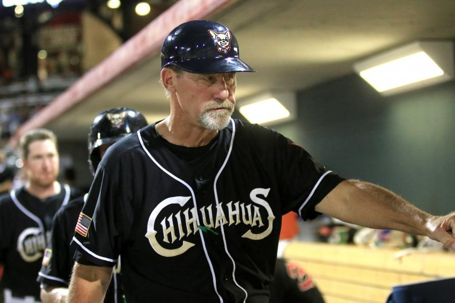 New+Chihuahuas+manager+Jamie+Quirk+has+been+involved+with+professional+baseball+for+over+40+years+as+a+player+and+coach.