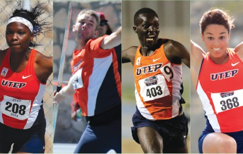 Samantha Hall, Rasmus Maukonen, Anthony Rotich and Jallycia Pearson will all compete at the NCAA Outdoor Championships.