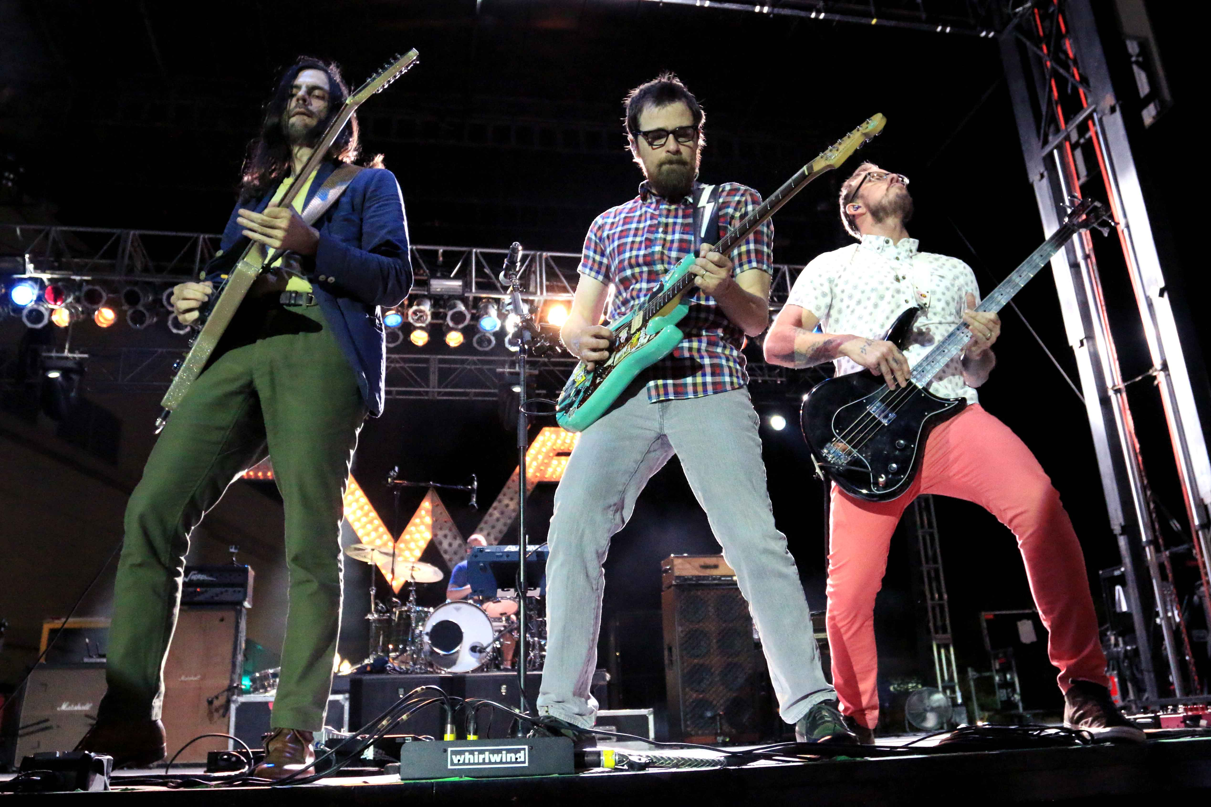Weezer performs at Streetfest 2015.