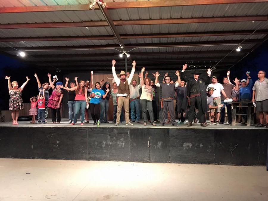 The Pistoleros de San Elizario re-enacted the historic Billy the Kid jailbreak tale in June.