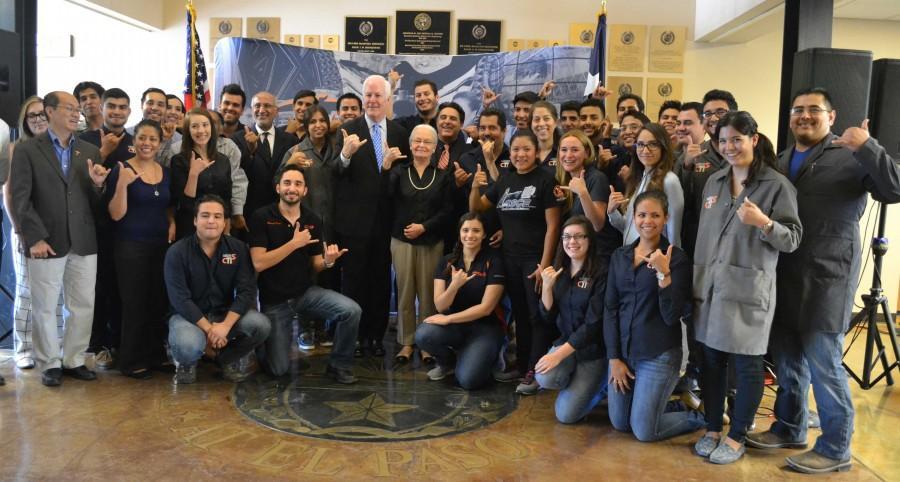 Texas Senator John Cornyn Visits UTEP