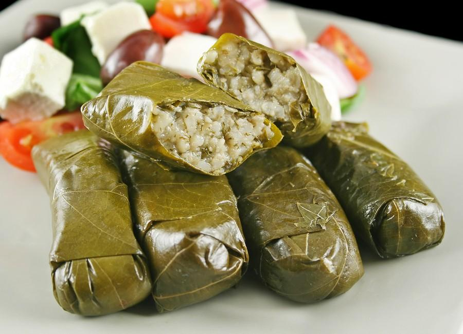 Greek dolmades were served at this years Greek Fest.