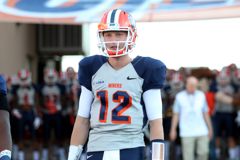 Redshirt freshman quarterback Ryan Metz has led a resurgent Miner offense in the last two weeks.