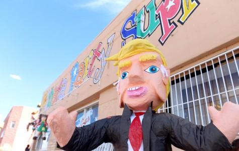 Piñata Party Supplies provides Donald Trump piñatas for $39.99.
