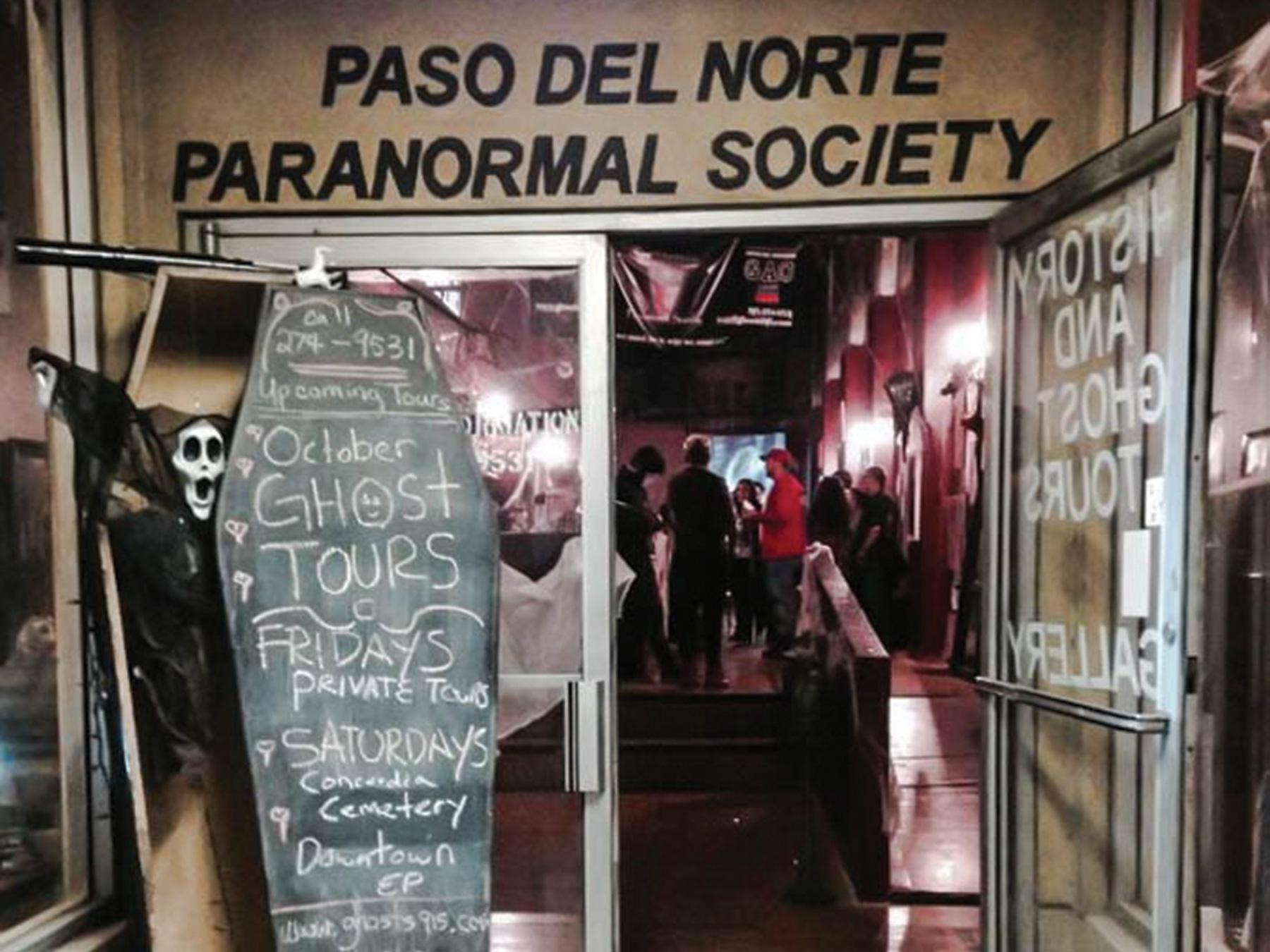 The Downtown El Paso Ghost Tour will take participants through the streets of downtown and conclude at the Old Wigwam Saloon .
