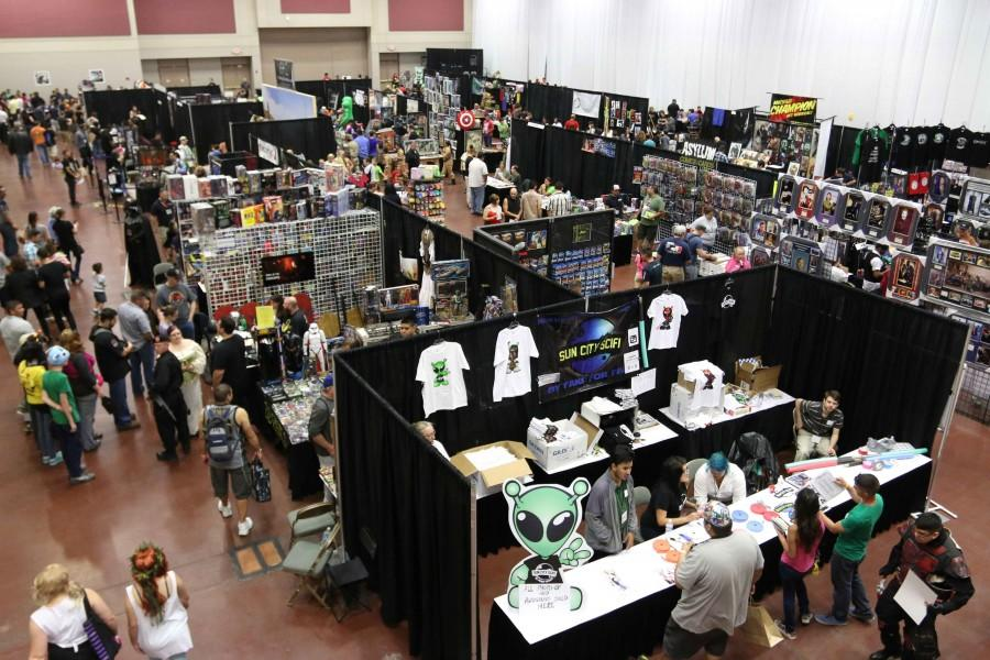The Sun City SciFi Expo will take place at the Camino Real hotel from 10 a.m. to 7 p.m. on Oct. 17 and from 11 a.m. to 6 p.m. on Oct. 18.