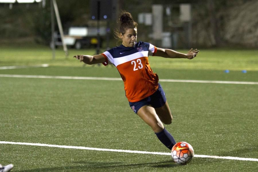The UTEP women's soccer team has five games remaining in the regular season.