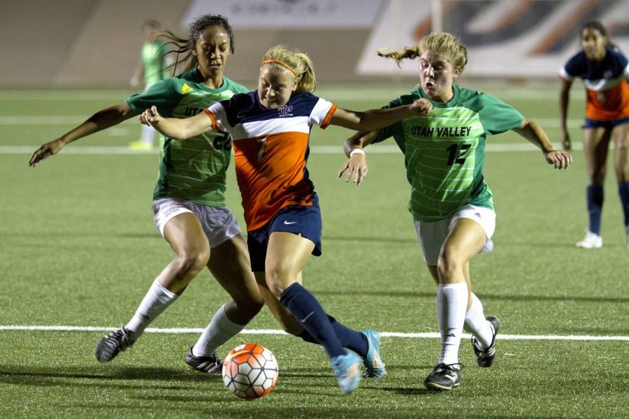 The UTEP women's soccer team has an 8-4-2 overall record on the season.