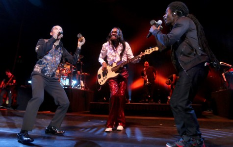 El Paso reminisces with Earth, Wind and Fire