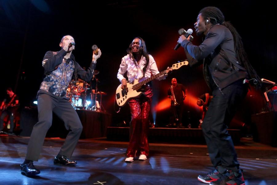 Earth, Wind and Fire performs at the Don Haskins Center on Thursday Nov. 5.