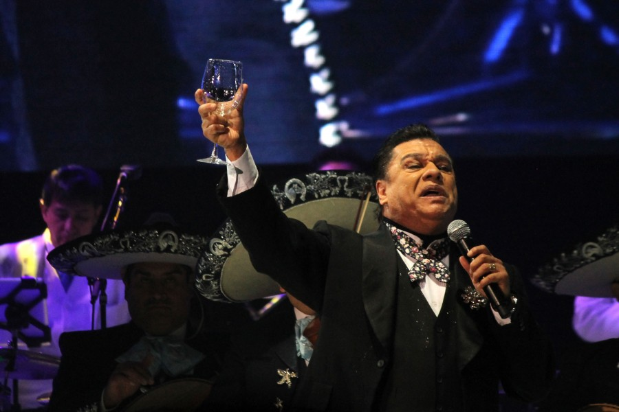 Juan Gabriel performed in El Paso twice in 2015, once in February and once in December.