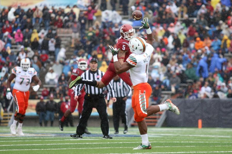 Washington St. Cougars defeat Miami 20-14 in The 2015 Sun Bowl