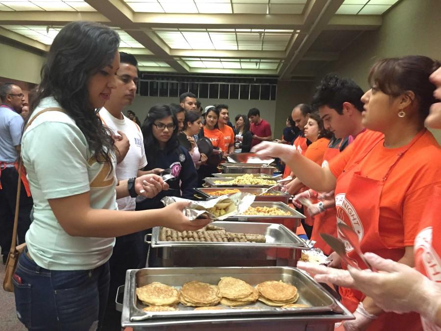 The annual Up All Night midnight breakfast will take place on Dec. 8 at the Union from 6 p.m. to 6 a.m.