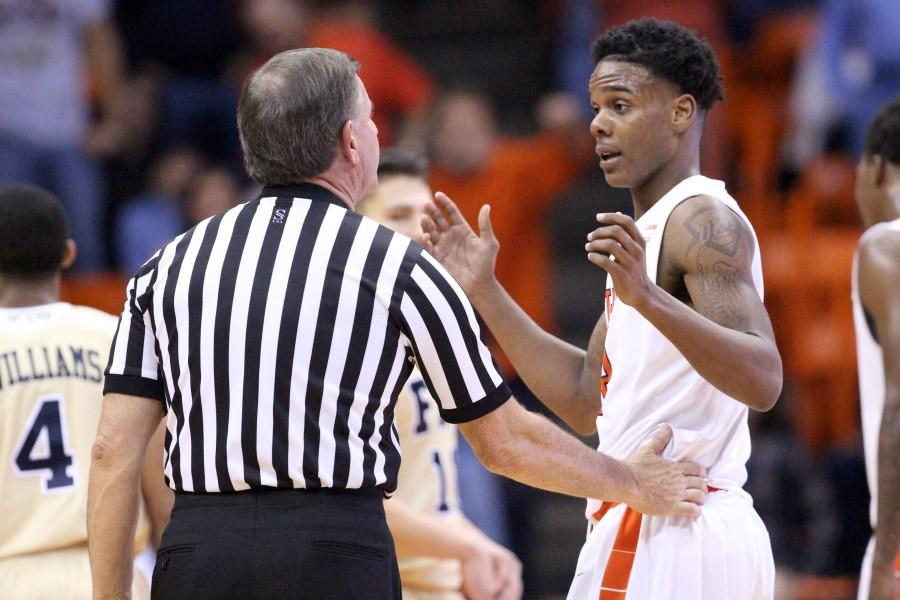 Head coach Tim Floyd and the Miners have not yet won a game on the road this season.
