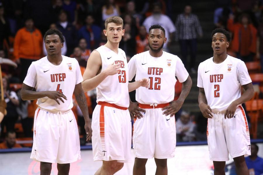UTEP men's basketball team takes on Florida Atlantic on Thursday, Jan. 21 at the Don Haskins Center.