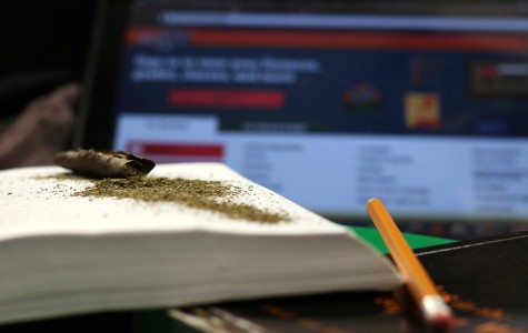 The number of students in possession of marijuana has increased in the past year.